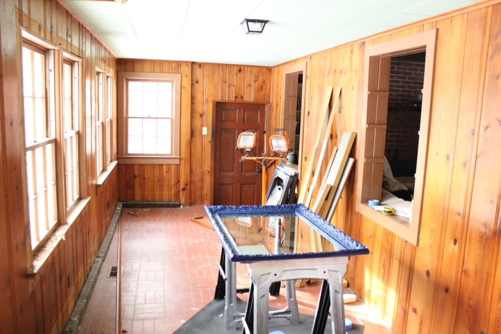D-Day for the Sunroom (1/6)