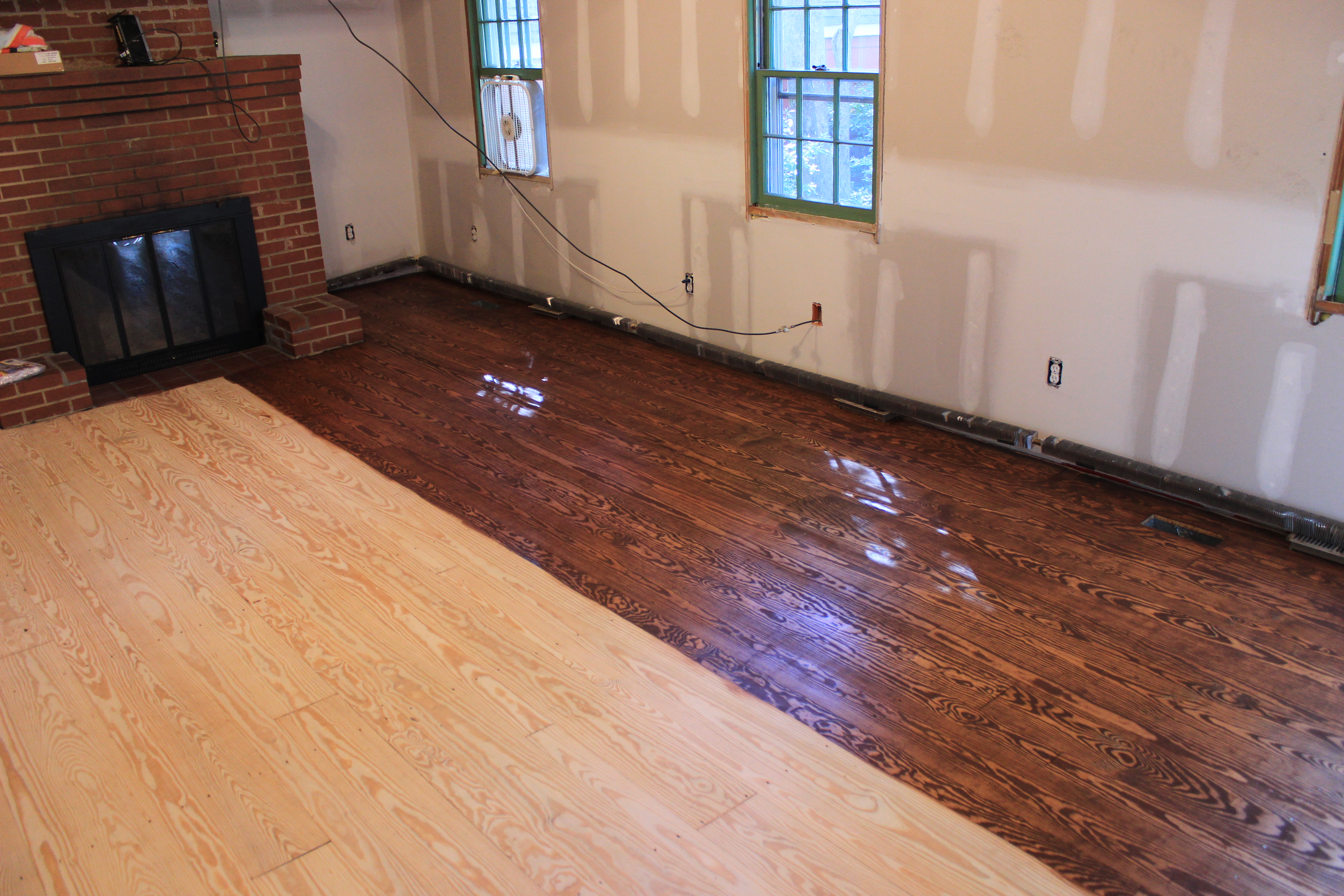 English Chestnut Floor Stain Amp Di21 Roccommunity